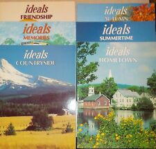 Lot Of 6 Six Ideals Vintage Magazines ~ Countryside, Memories, Summertime & More