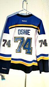 Reebok Women s Premier NHL Jersey St. Louis Blues T.J. Oshie White ... 94211e9be