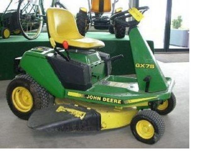 [SCHEMATICS_4PO]  Original John Deere GX70 GX75 SRX75 SRX95 Riding Mower Technical Manual #  TM1491 for sale online | eBay | John Deere Sx85 Wiring Schematic |  | eBay