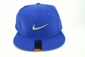 fcb429375c65a NIKE TRUE Swoosh Flex Unisex Baseball Casual Golf Cap Blue- Grey ...