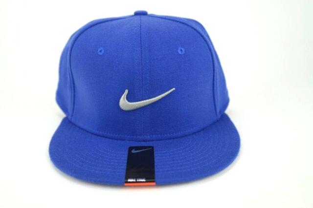 NIKE TRUE Swoosh Flex Unisex Baseball Casual Golf Cap Blue- Grey Swoosh One  Size 09d11e913a3