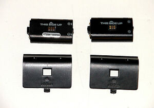 Lot-of-2-Nyko-Xbox-One-Rechargeable-Battery-W-Battery-Back-For-Charging-Dock