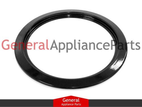 "Stove Range Cooktop 6/"" Black Burner Drip Pan Ring DBPA007"