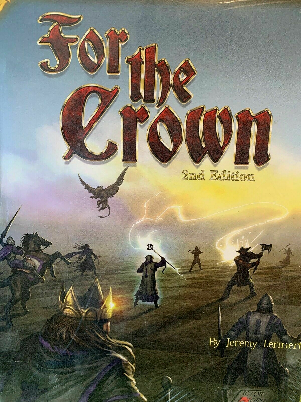 For the Crown 2nd Edition Board Game - NEW SEALED