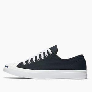 b7b0402f99da Mens Converse Jack Purcell Jack Ox Fashion Sneaker Black Canvas All ...