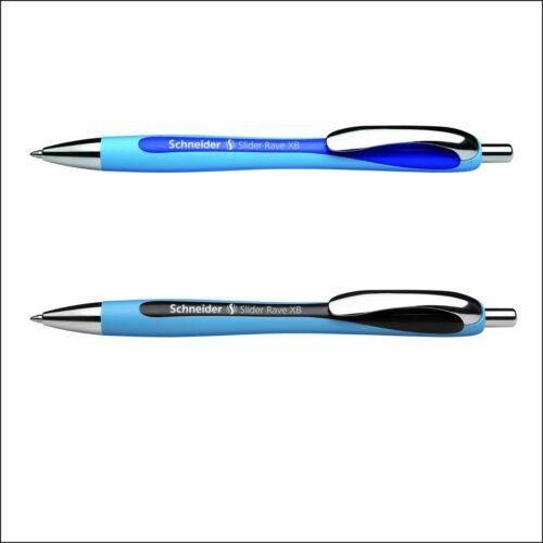Kugelschreiber Schneider Slider Rave XB Blau und Schwarz