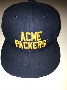 caeef578e39 New no Tags Green Bay Packers New Era Acme Packers Fitted 6 5 8 Hat ...