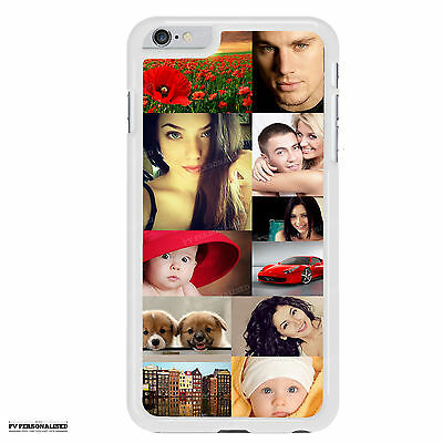 COLLAGE PHOTO PHONE CASE PERSONALISED FOR IPHONE 6/6s Plus CUSTOM PRINTED