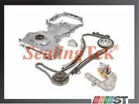 Fit 02-06 Nissan Qr25de Engine Timing Chain Kit W/ Oil Pump Front Cover Kit Set