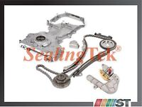 Fit 02-06 Nissan Qr25de Engine Timing Chain Kit W/ Oil Pump Front Cover Kit Set