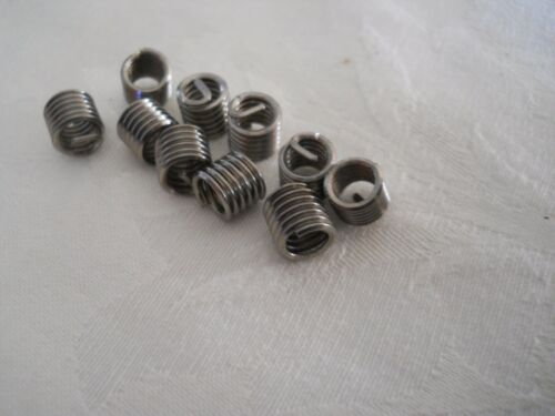 Ten Pack Holley  HELI-COIL Thread Inserts Fuel Bowl Repair
