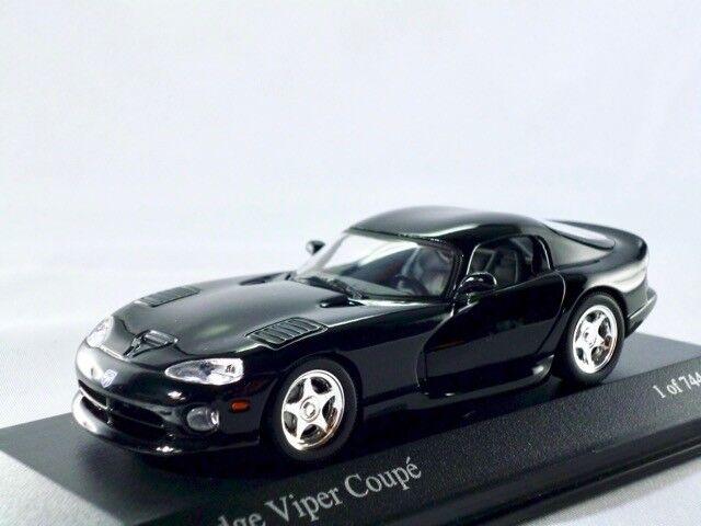 Dodge Viper Viper Viper Coupe 1992-2002 negro Minichamps 1 43 7b2e4a