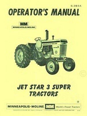 Business & Industrial Super Operators Manual Minneapolis Moline ...