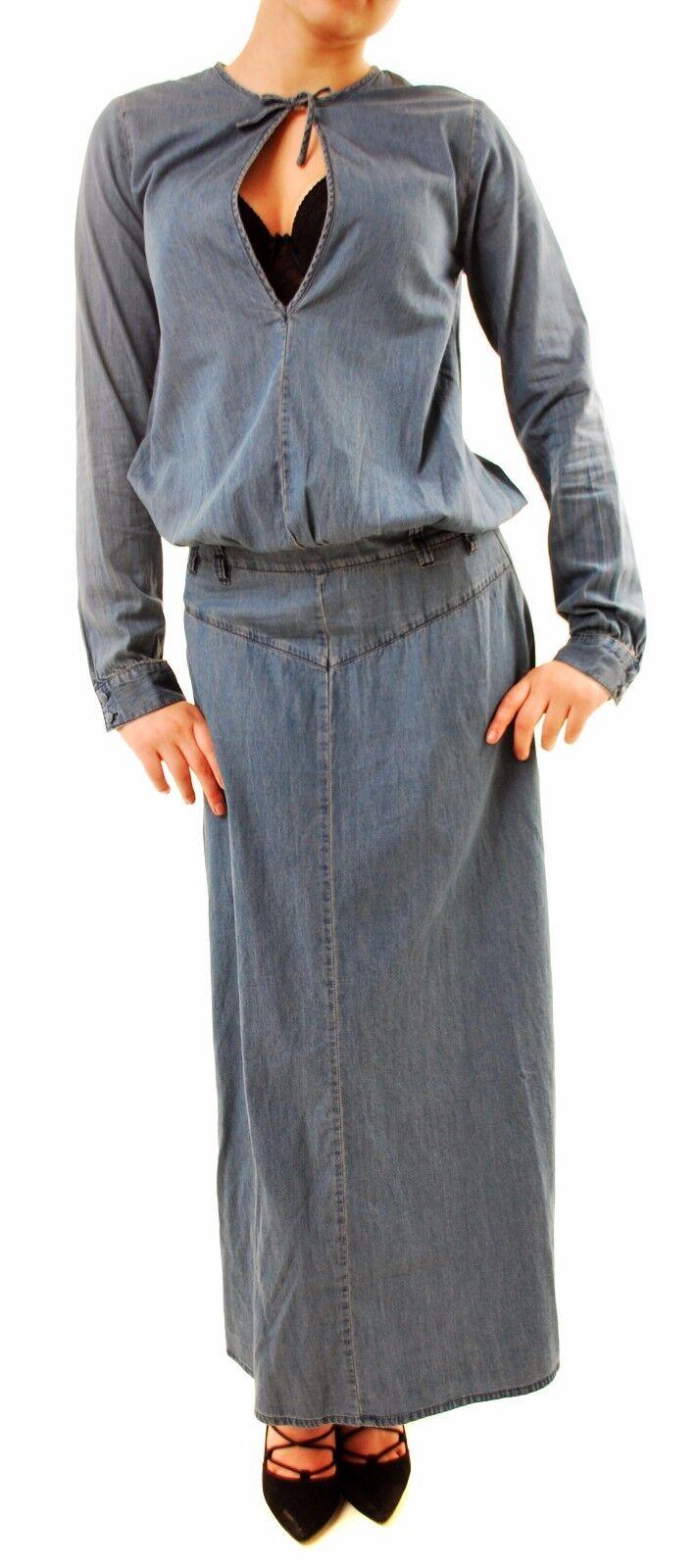 One Teaspoon Women's Western Isle Dress bluee Denim Size S RRP  145 BCF68