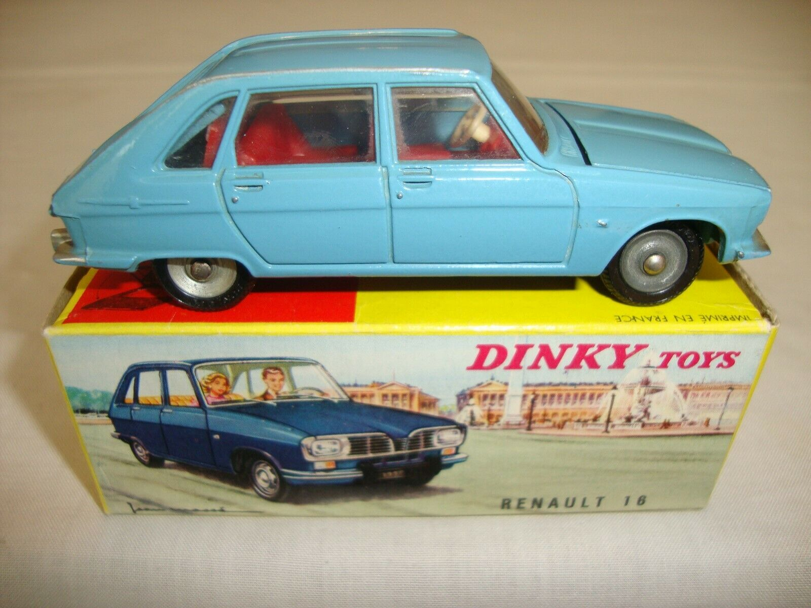 Original FRENCH DINKY 537 RENAULT 16 - EXCELLENT in original BOX