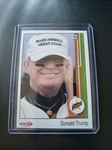 1989 Upper Deck Donald Trump Ken Griffey Jr Rookie Parody ACEO Baseball Card RC