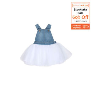 Fox & Finch Baby - Madison Denim Tulle Overall