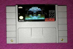 Details about Super Metroid Justin Bailey SNES Super Nintendo NTSC rom hack  custom game cart