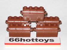 LEGO Accessories Pirate Brown Treasure Chests of 5 New