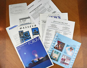 hasselblad camera owners promotional sales pamphlets brochures