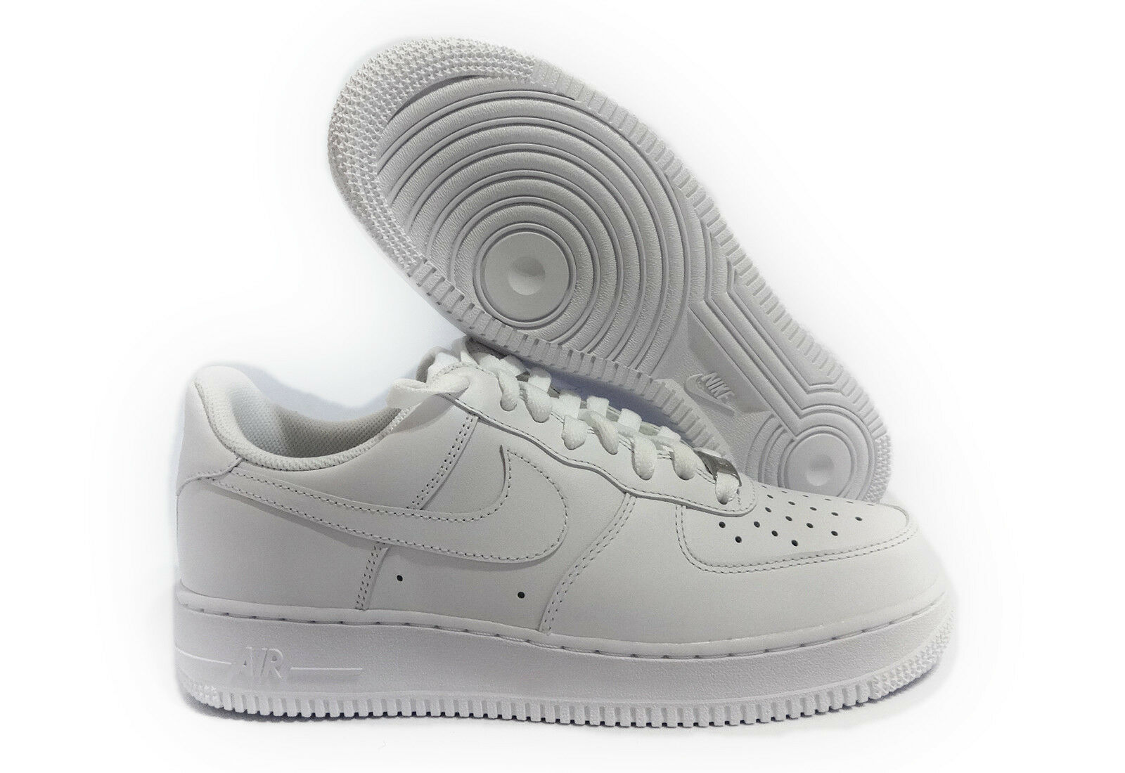 315122-111 NIKE AIR FORCE 1 '07 TRIPLE WHITE MEN SNEAKER SIZE 14 Comfortable and good-looking