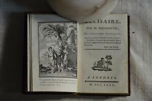 1780-Belisaire-Par-M-de-Marmontel-1-frontispice-et-3-gravures-in-texte-BE