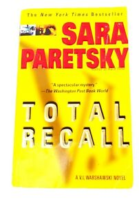 Sara Paretsky Total Recall Buy Books Online Book Sales Used On Line Stores Cheap Ebay