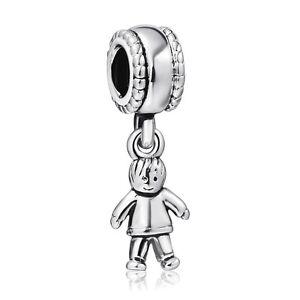 Cute-Boy-Charms-Hot-925-Silver-European-Fine-Handmade-Bead-For-Sterling-Bracelet