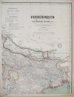 Schnelle Lieferung Indien India Burma Assam Ganges Bhutan Tibet Nepal Kalkutta Bengalen Dhaka Dehli Gesundheit FöRdern Und Krankheiten Heilen