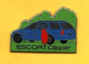 Pin-039-s-lapel-pin-pins-FORD-ESCORT-CLIPPER-Sac-de-club-de-golf-ZAMAC