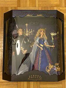 NEW-D23-Expo-2019-Disney-Designer-Midnight-Masquerade-Aurora-amp-Phillip-LE-Doll