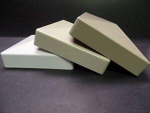 """5"""" x 5"""" External Flat Pyramid Vinyl Post Cap"""