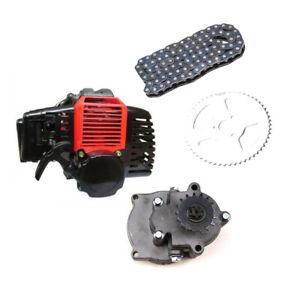 47-49cc-Engine-Motor-amp-Gear-Box-Transmission-T8F-Chain-Mini-Pocket-Bike-Scooter