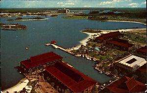 Orlando-Amerika-USA-Florida-AK-1975-Disney-World-Park-Bucht-Polynesian-Village
