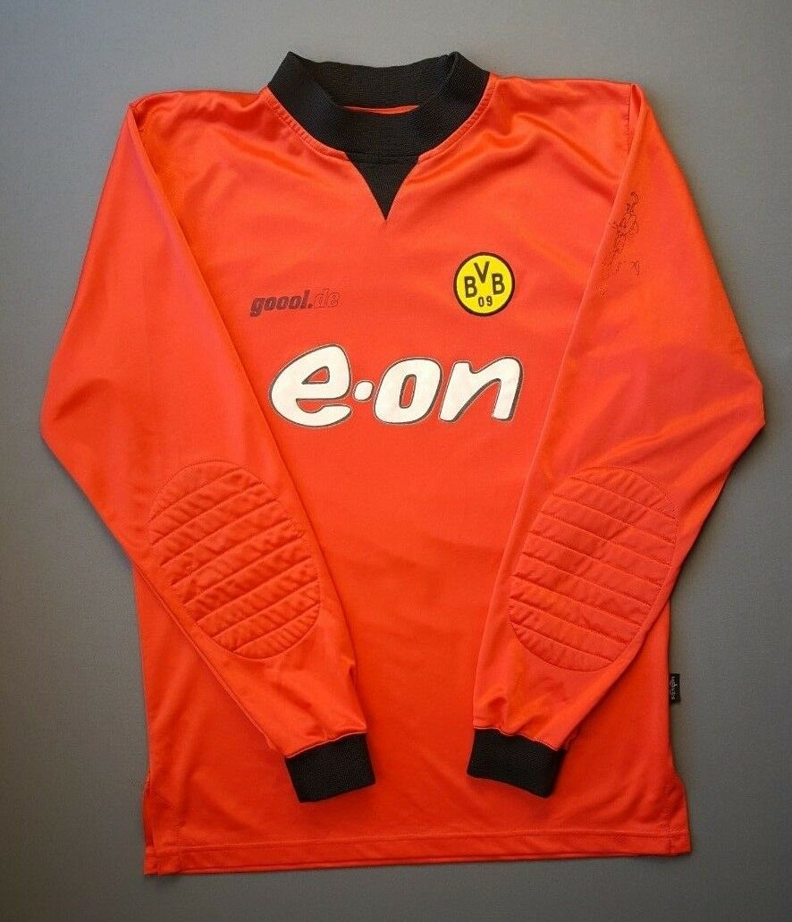 4 5 Borussia Dortmund 2003 2002 Camiseta De Fútbol Portero Jersey Talla L Goool. de