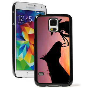 For-Samsung-Galaxy-S9-S8-S7-S6-Edge-Hard-Case-903-Cowgirl-and-Horse-Sunset