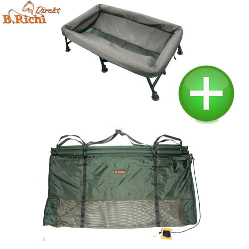 B.Richi Set Cradle Deluxe Pro Wiegeschlinge Floater Pro Sling II Abhakmatte