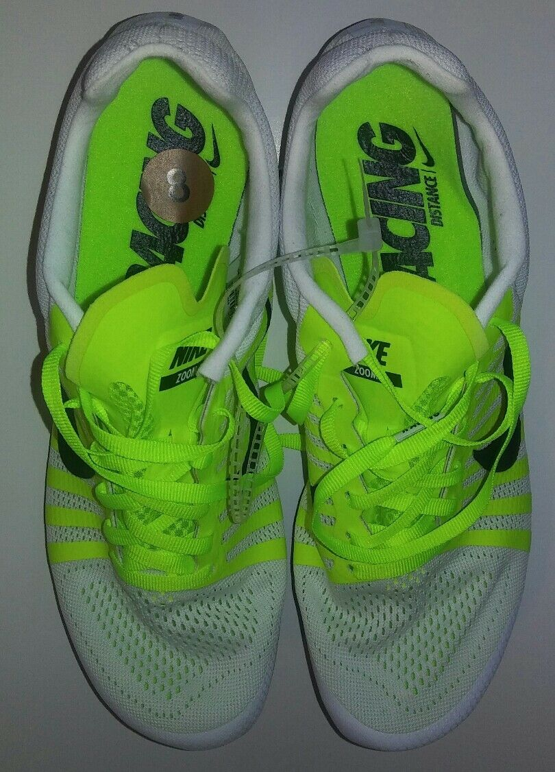 Gentleman/Lady Nike Zoom Racing White/Green and Size 8 use Modern and White/Green stylish fashion Modern mode 4e7a6f