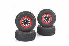 4X Bead-Lock Short Course Truck Tires&Wheel Rim For 1:10 TRAXXAS Slash RC Car