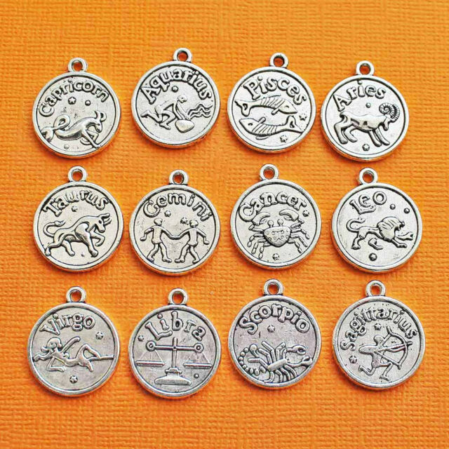 COL144 Rodeo Charm Collection Antique Silver Tone 11 Different Charms