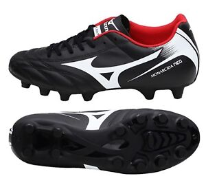 Mizuno Men Monarcida Neo MD Cleats Soccer Football Black Shoes Spike ... b8eb10d7eb