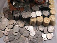 HUGE IKE DOLLAR HOARD - EISENHOWER $ COIN - 10 COINS PER LOT
