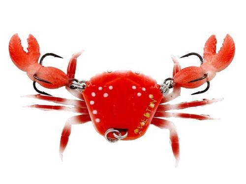 Bleifrei Gummiköder mit Owner Haken FARBEN 6g Westin Coco the Crab 2cm