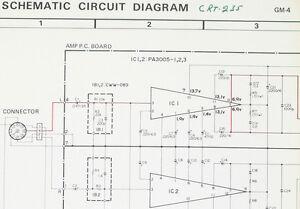 Pioneer    GM   4 Original Power Amplifier servicecircuit