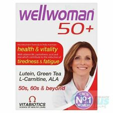 Vitabiotics Wellwoman 50 Advanced + vitaminas y minerales, suplemento de 30 Comprimidos