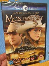 Montana Sky-Ashley Williams John Corbett(R2 DVD UK)Nora Roberts Book New+Sealed