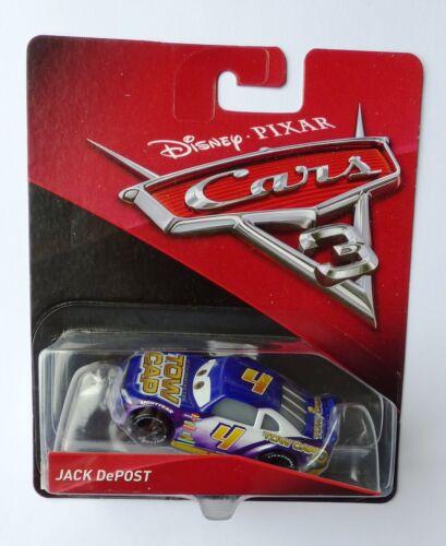 Disney Pixar Cars 3 JACK DePOST très rare sur 100 voitures en vente!!!