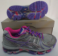 Asics Kayano 18 Womens Size 6 Shoes T250q 9636 Running Work Out Training