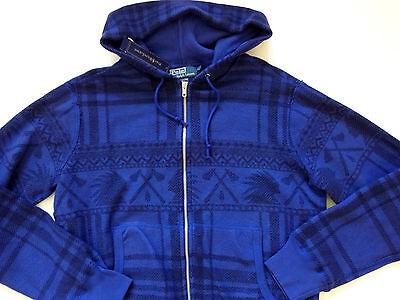 $265 NWT Polo Ralph Lauren Indian Full-zip Fleece Hoodie Sz S M L XL