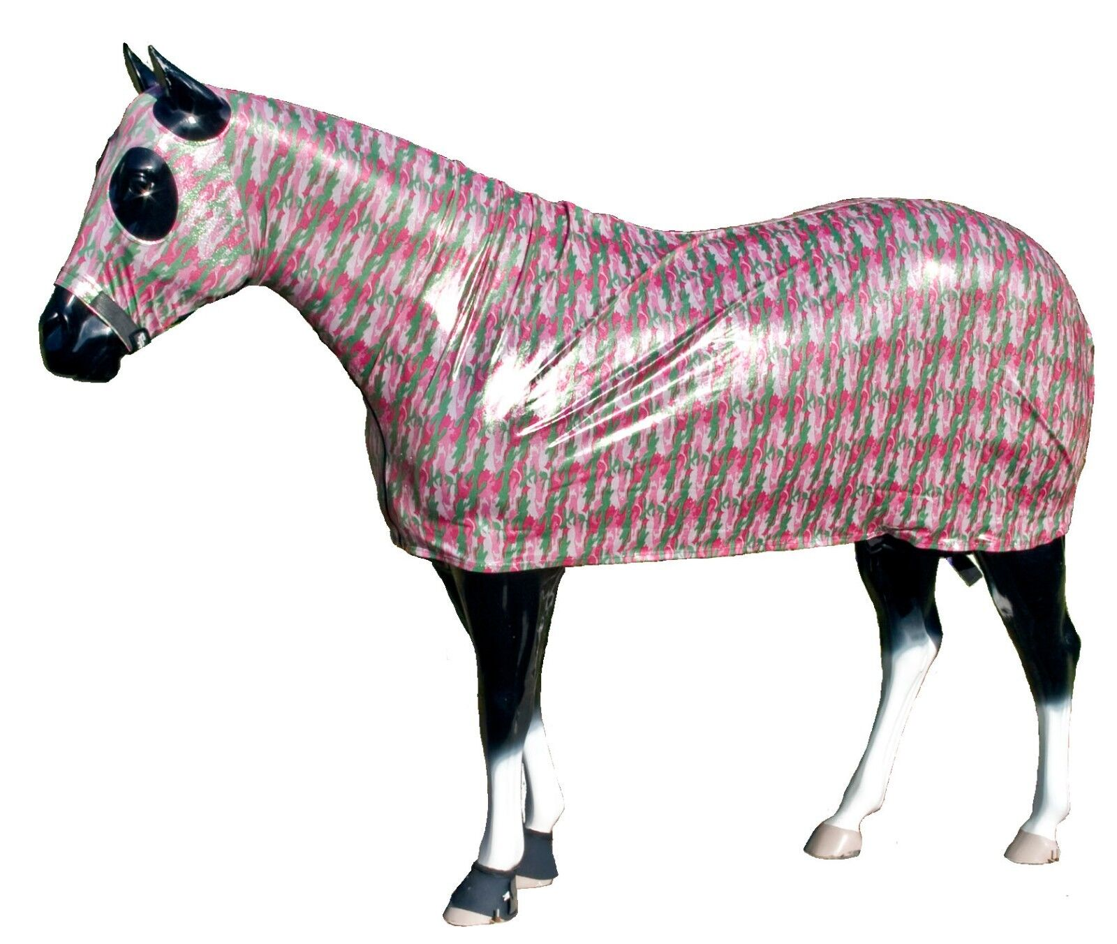 Sleazy Sleepwear for Horses Full Body Assorted Prints & Foils Size Small (66-70)